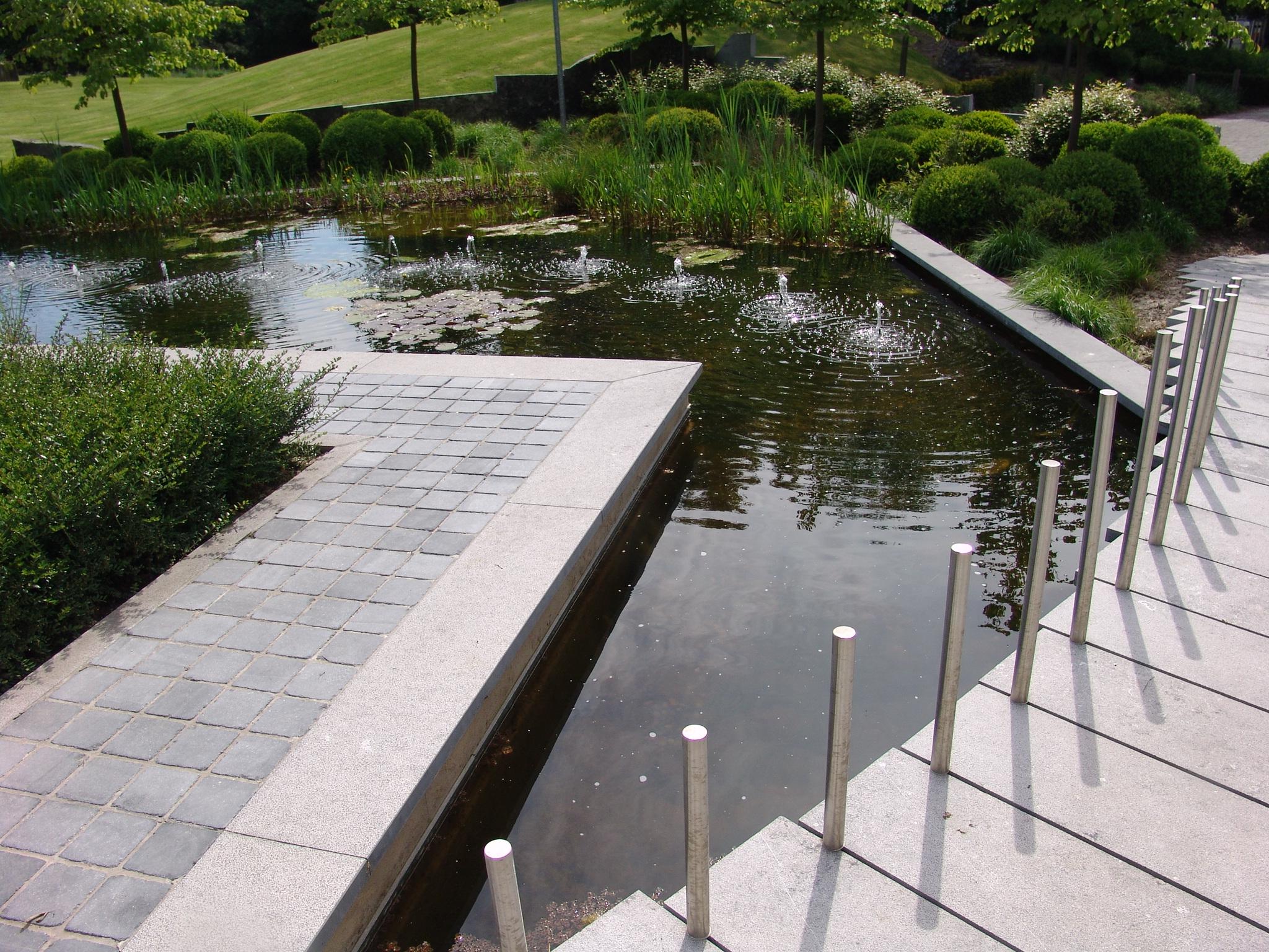 Les plans en ligne pour vos projets de terrasses acc s parkings jardins voiries abords - Bassin sur balcon angers ...