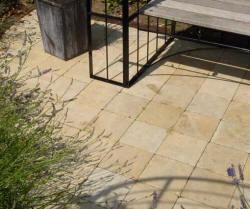 Dalle en pierre blanche ou de bourgogne d 39 origine france - Dalle granit pour terrasse ...