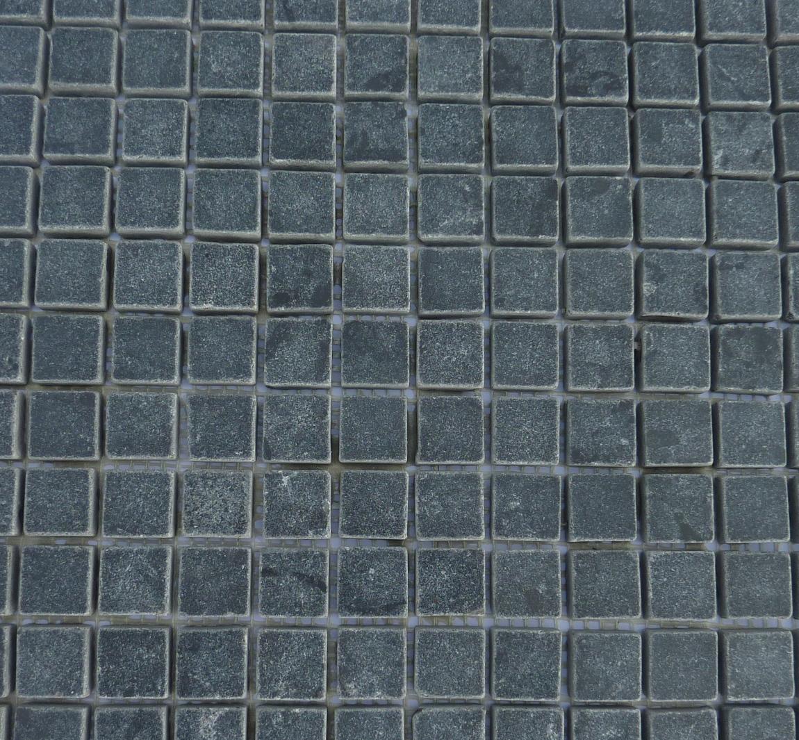 Mosa que en pierre bleue et calcaire import de turquie for Carrelage pierre bleue belge prix