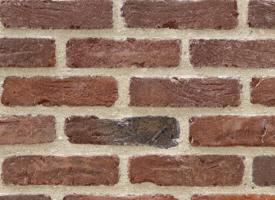 Brique de facade parement antique vande moortel chez pierre et sol fournisseu - Enduit sur brique rouge ...