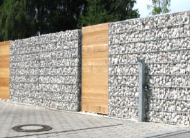gabion de d coration pour int rieur ext rieur jardins gabion rempli. Black Bedroom Furniture Sets. Home Design Ideas