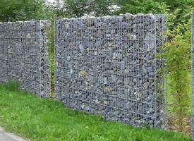 gabion vide en kit cage gabions mur de sout nement en gabion. Black Bedroom Furniture Sets. Home Design Ideas