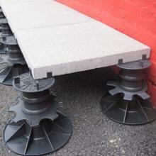 Plot de terrasse plot r glable simple economique pour dalle et terrasse che - Dalles beton sur plots ...