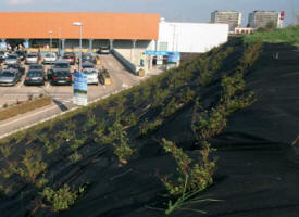 Geotextile weedtex anti-mauvaises herbes