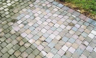 Nettoyage et entretien des mat riaux et pav s d tachage traitement protect - Produit pour nettoyer paves autobloquants ...