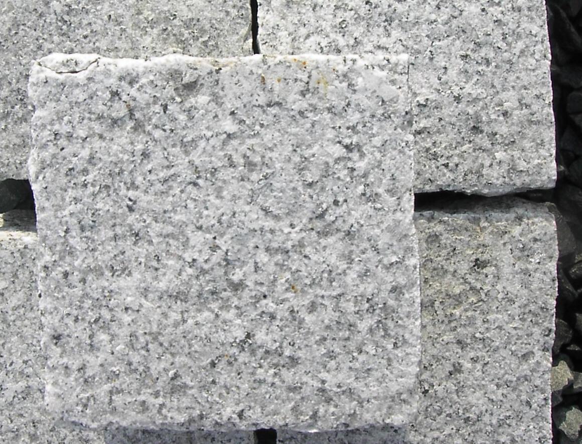 Pierre De Parement En Granit paves granit scié et travaillé flammé, sablé, bouchardé